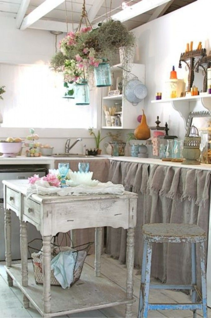 chabby-chic-kitchen-interior