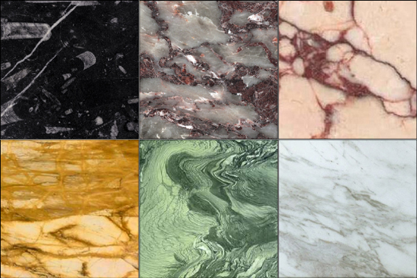 Kinds Of Marble