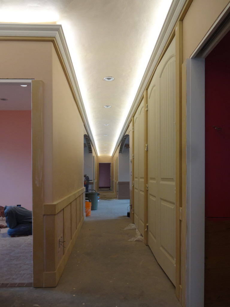 Leds On In Hallway