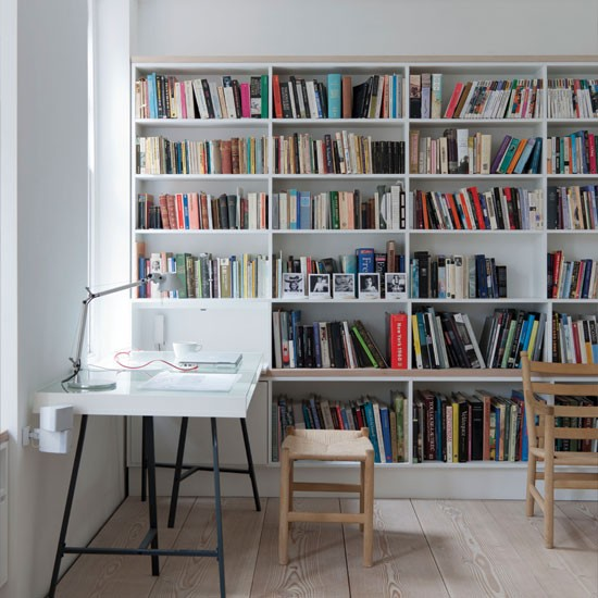 Home-office-with-bookcase