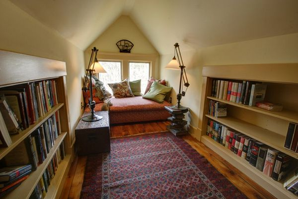 attic-home-library-comfortable-window-seating
