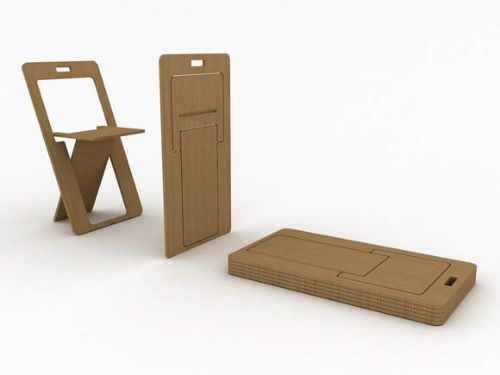 folding chairs flat design