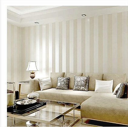 striped living room walls striped wallpaper roll modern vertical stripe wall paper 15740